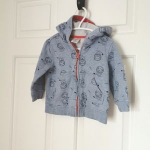 2/$30 Gymboree lion print sweater size 12-18 m
